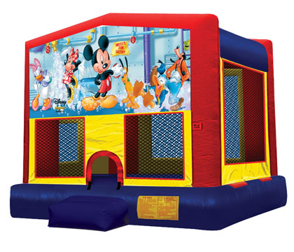 Mickey Mouse Bounce House Rental Cape Coral FL
